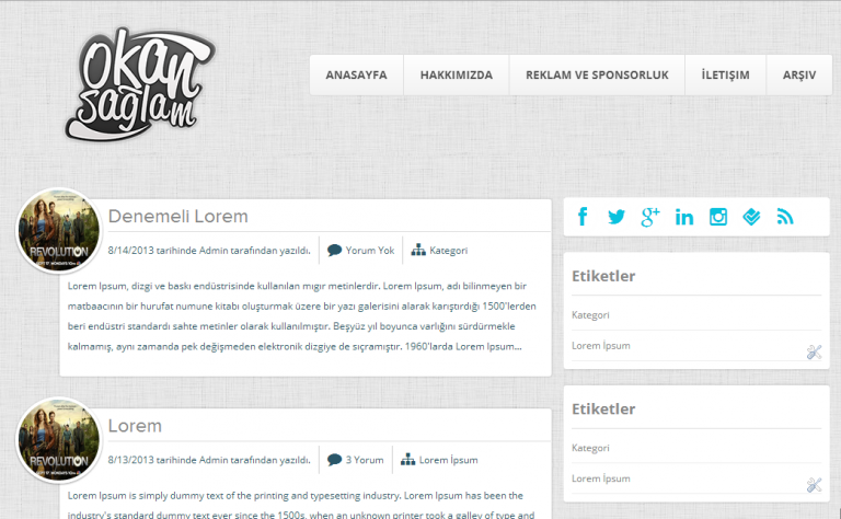 OSade WordPress Tema
